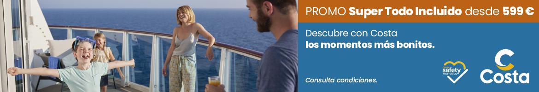 Promoción Costa Cruceros oct 2021